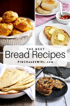 grid of homemade bread images