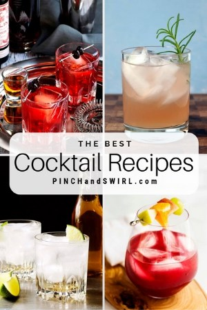 grid of craft cocktail images