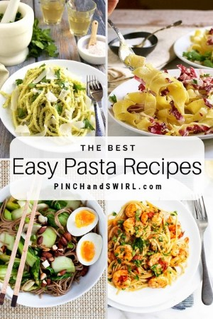 grid of pasta dish images