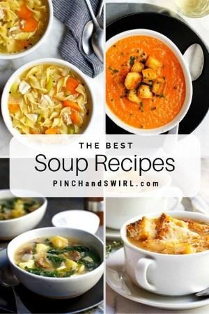 grid of soup images