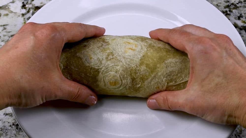 rolled carne asada burrito