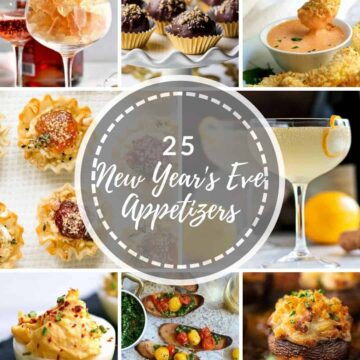 25 New Years Eve Appetizers image grid