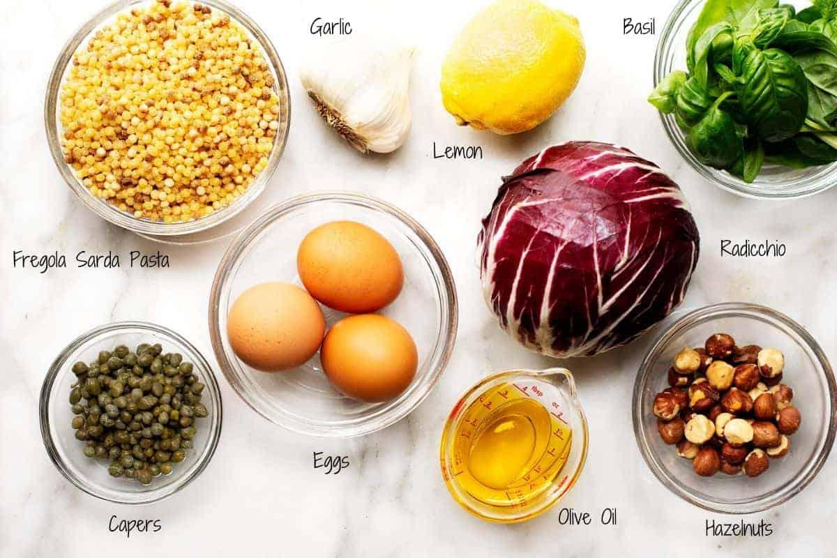 fregola sarda salad ingredients