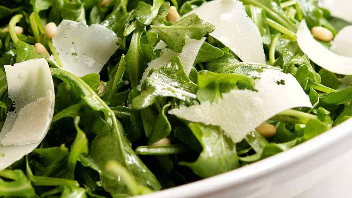 arugula salad ready to serve