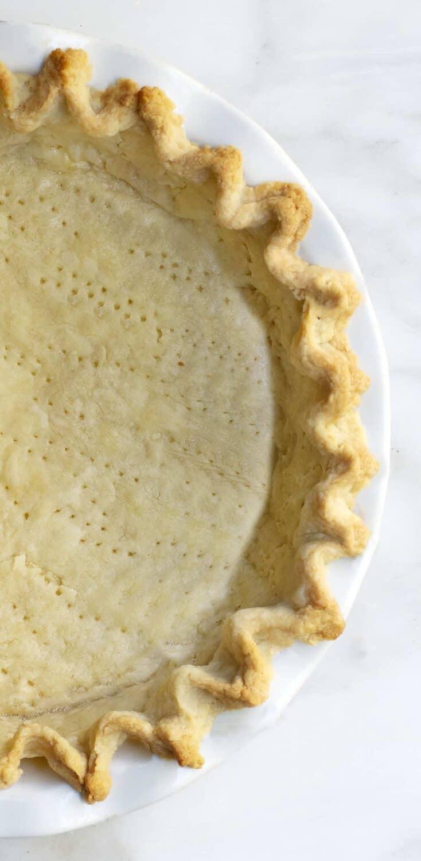 Fully Baked Lard Pie Crust