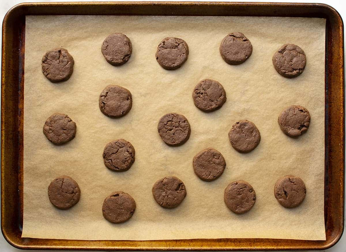 World Peace Cookies after baking