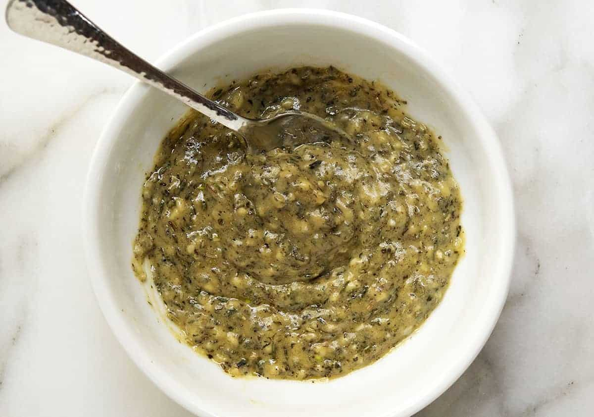 mustard herb paste