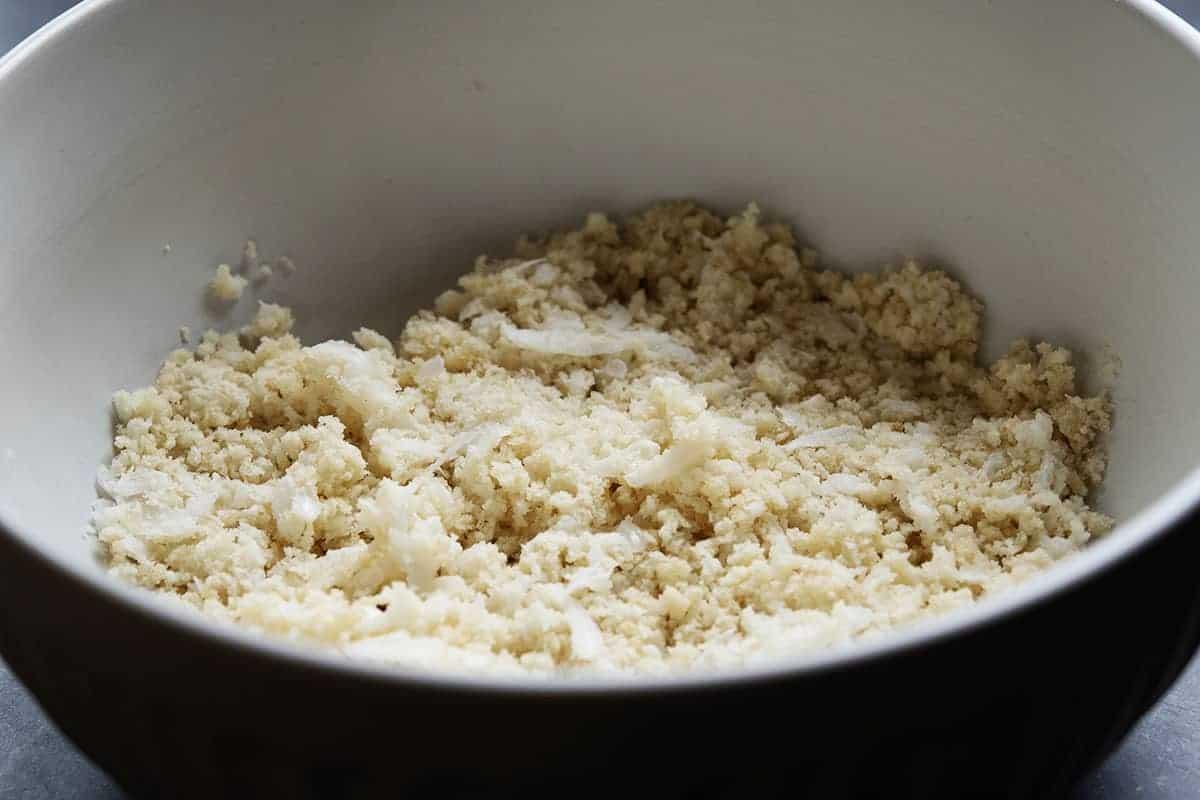 panko breadcrumbs milk and onion