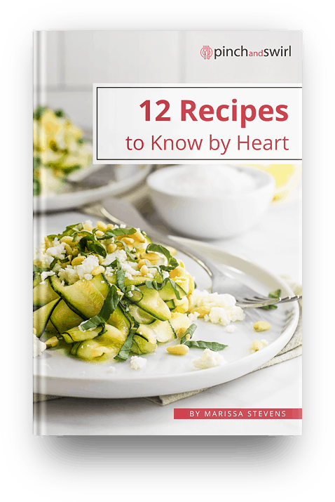 12 Recipes to Know by Heart Book Cover