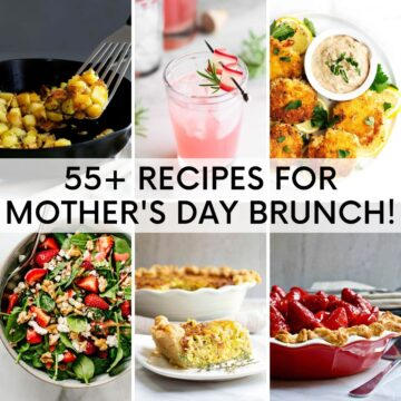 55 Recipes for Mothers Day Brunch image grid